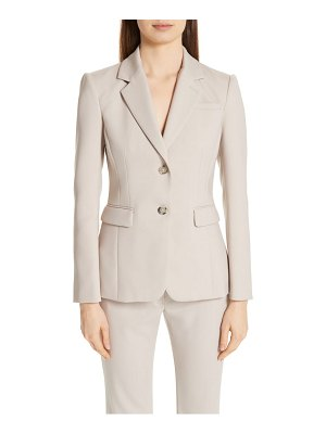 Altuzarra fitted two-button stretch wool blazer