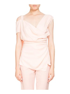 ALTUZARRA Vona Draped Wrap Blouse