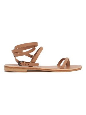 ALVARO anna wraparound leather sandals