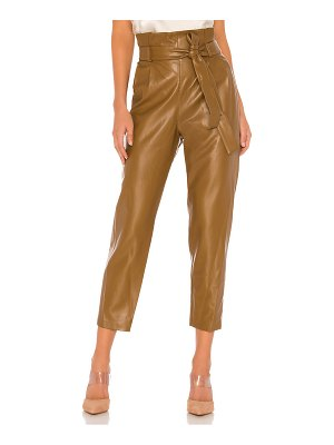 Amanda Uprichard tessi faux leather pant