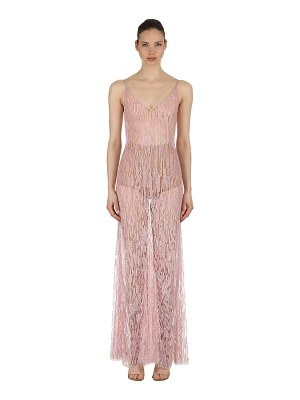 Amen Couture Sequined stretch tulle gown