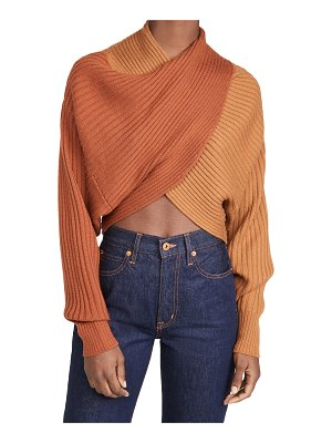 AMUR milena crop sweater