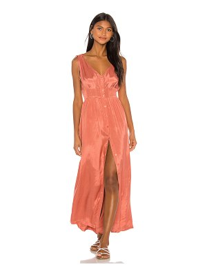 AMUSE SOCIETY marlena woven maxi dress