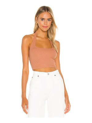 AMUSE SOCIETY velzy knit halter top