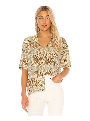 AMUSE SOCIETY wildcat woven blouse