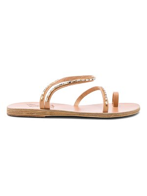 Ancient Greek Sandals apli eleftheria diamonds sandal