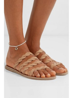 Ancient Greek Sandals kynthia braided leather sandals