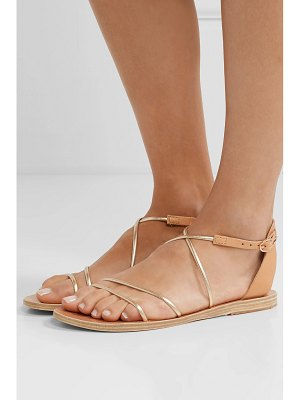 Ancient Greek Sandals meloivia metallic leather sandals