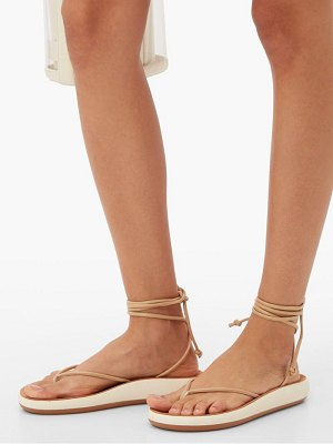 Ancient Greek Sandals pieria wraparound leather sandals