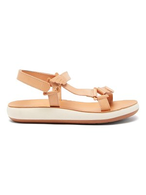 Ancient Greek Sandals poria wing-tip leather sandals