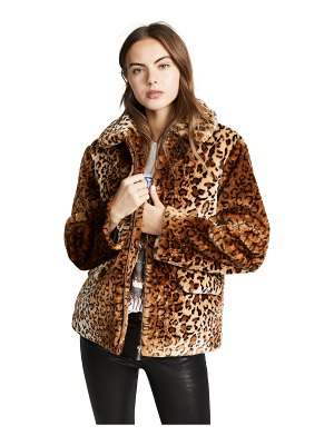 Anine Bing molly faux fur jacket