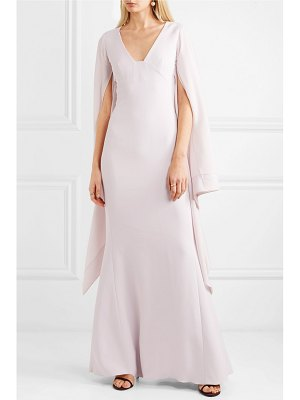 Antonio Berardi draped crepe and georgette gown