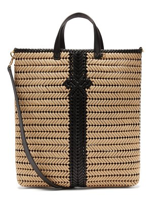 Anya Hindmarch neeson woven rope and leather tote bag