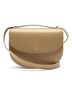 A.P.C. genève leather cross body bag