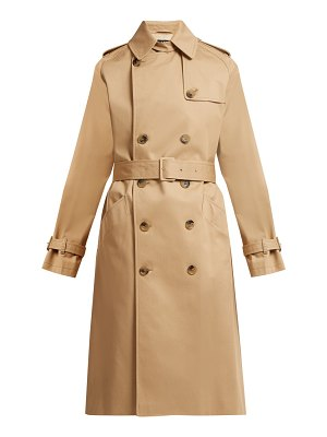 A.P.C. greta cotton twill trench coat