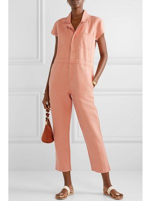 Apiece Apart azore cotton and linen-blend twill jumpsuit