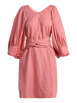 Apiece Apart Odesa Balloon Sleeve Dress