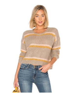 Apiece Apart Striped Mirthe Crew Sweater