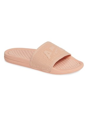 APL: Athletic Propulsion Labs big logo techloom slide sandal