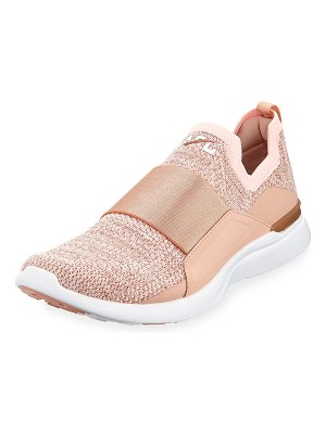 APL: Athletic Propulsion Labs Techloom Bliss Metallic Knit Slip-On Running Sneakers