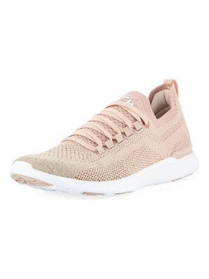 APL: Athletic Propulsion Labs Techloom Breeze Metallic Knit Mesh Running Sneakers