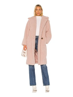 Apparis daryna faux shearling coat