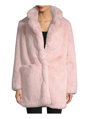 Apparis sophie faux fur jacket