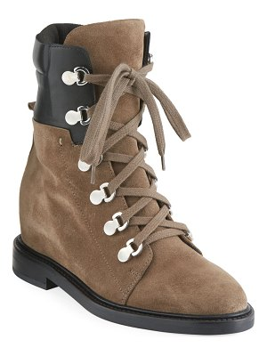 Aquatalia Clarissa Lace-Up Hiker Boots