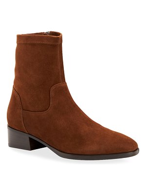 Aquatalia Faren Suede Zip Booties