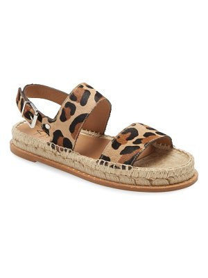 Aquatalia kira genuine calf hair espadrille sandal