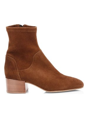 Aquatalia lyla stretch-suede ankle boots