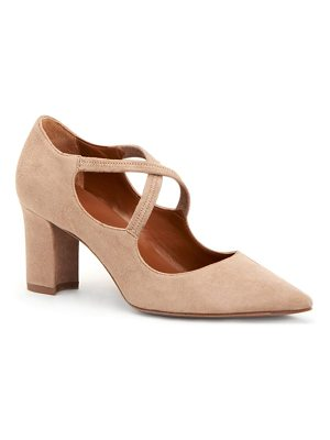Aquatalia madeline suede mary jane pumps