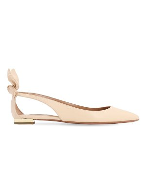 Aquazzura 10mm deneuve leather flats