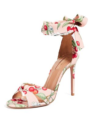 AQUAZZURA All Tied Up 105mm Sandals