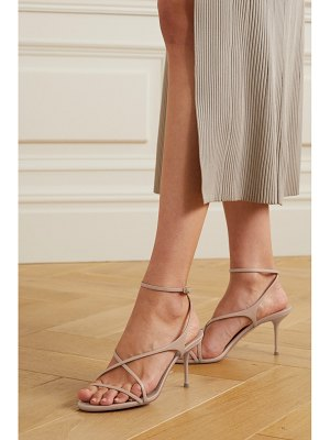 Aquazzura candie 75 leather sandals