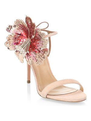 Aquazzura disco flower sandals