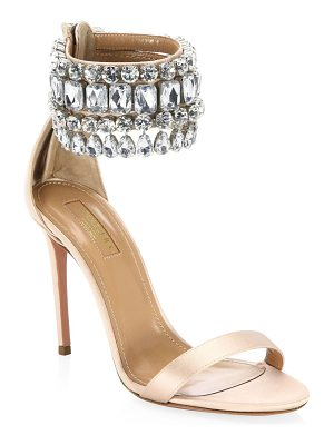 AQUAZZURA Gem Palace Sandals