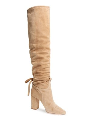 Aquazzura milano slouchy knee high boot