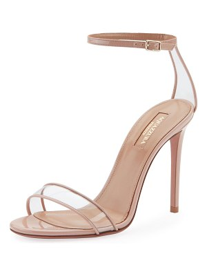 Aquazzura Minimalist High-Heel Patent Sandals
