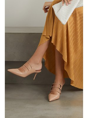 Aquazzura minute 75 leather mules