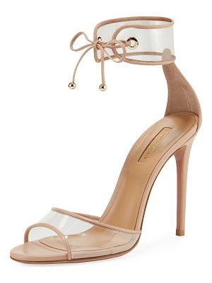 Aquazzura Optic PVC 105mm Sandal