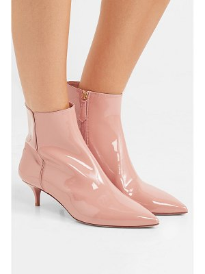 Aquazzura quant patent-leather ankle boots