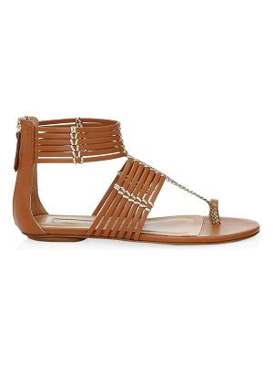 Aquazzura ravello leather sandals