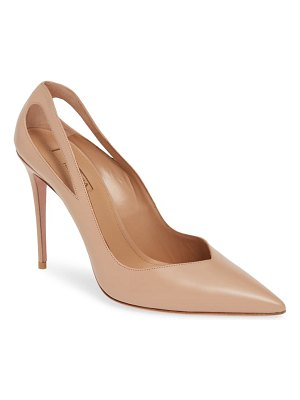 Aquazzura shiva cutout pointy toe pump