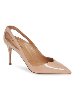 Aquazzura siva cutout pointy toe pump