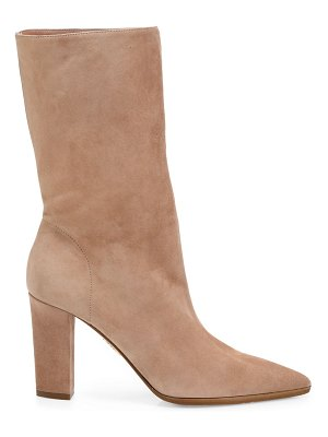Aquazzura skyler suede ankle boots