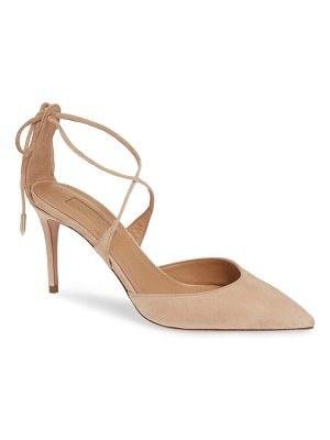 Aquazzura very matilde pointy toe pump