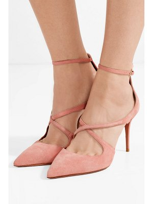 Aquazzura viviana suede pumps