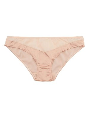 Araks aaron silk-blend chiffon and satin briefs