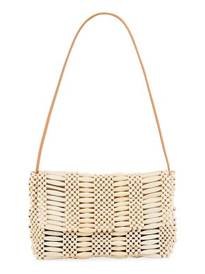 Aranaz Clara Beaded Shoulder Bag
